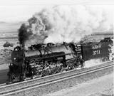 Santa Fe #3751 steam engine